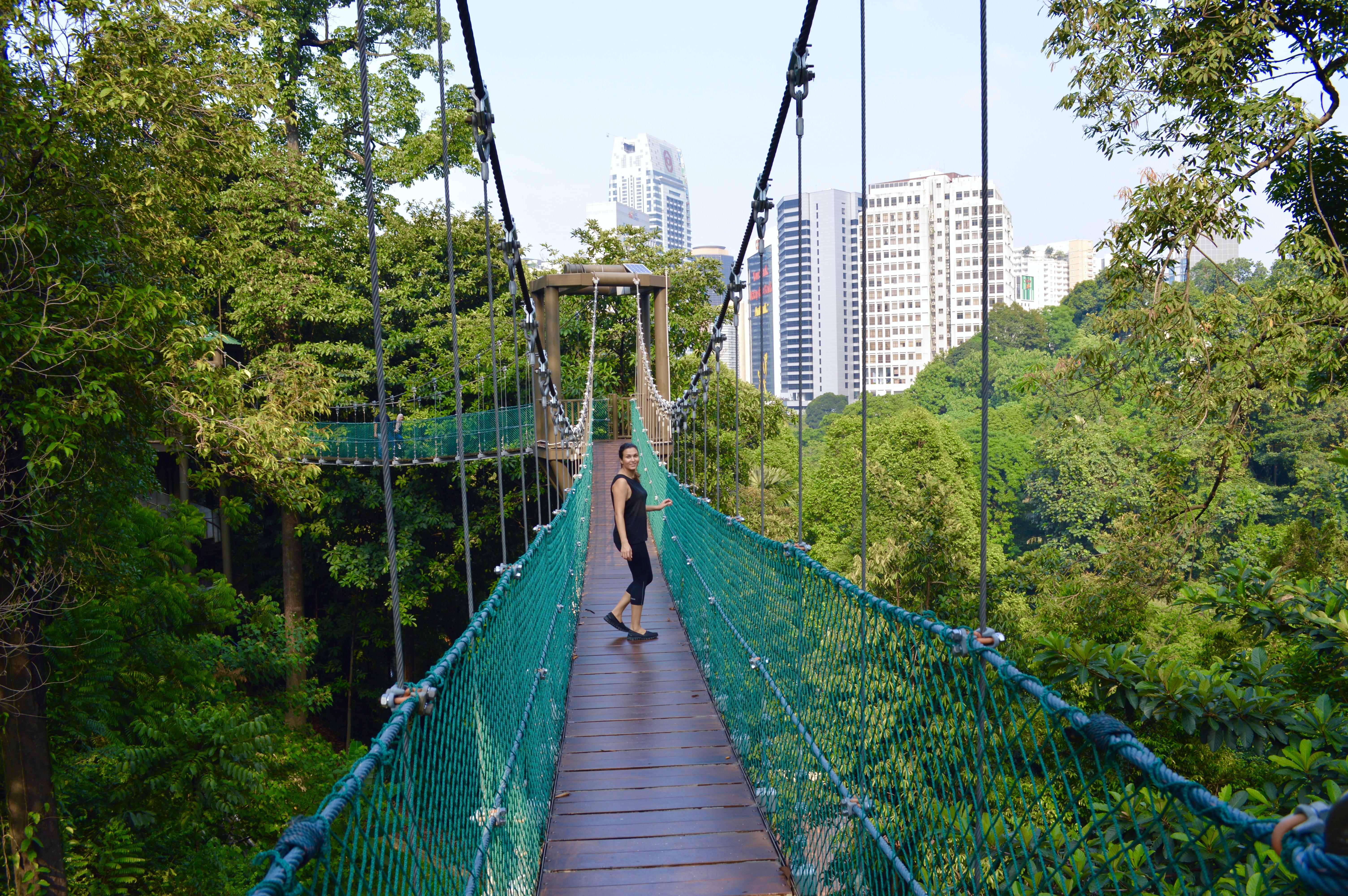 Skywalk Kuala Lumpur | Stay Healthy while traveling | Hello Raya Blog