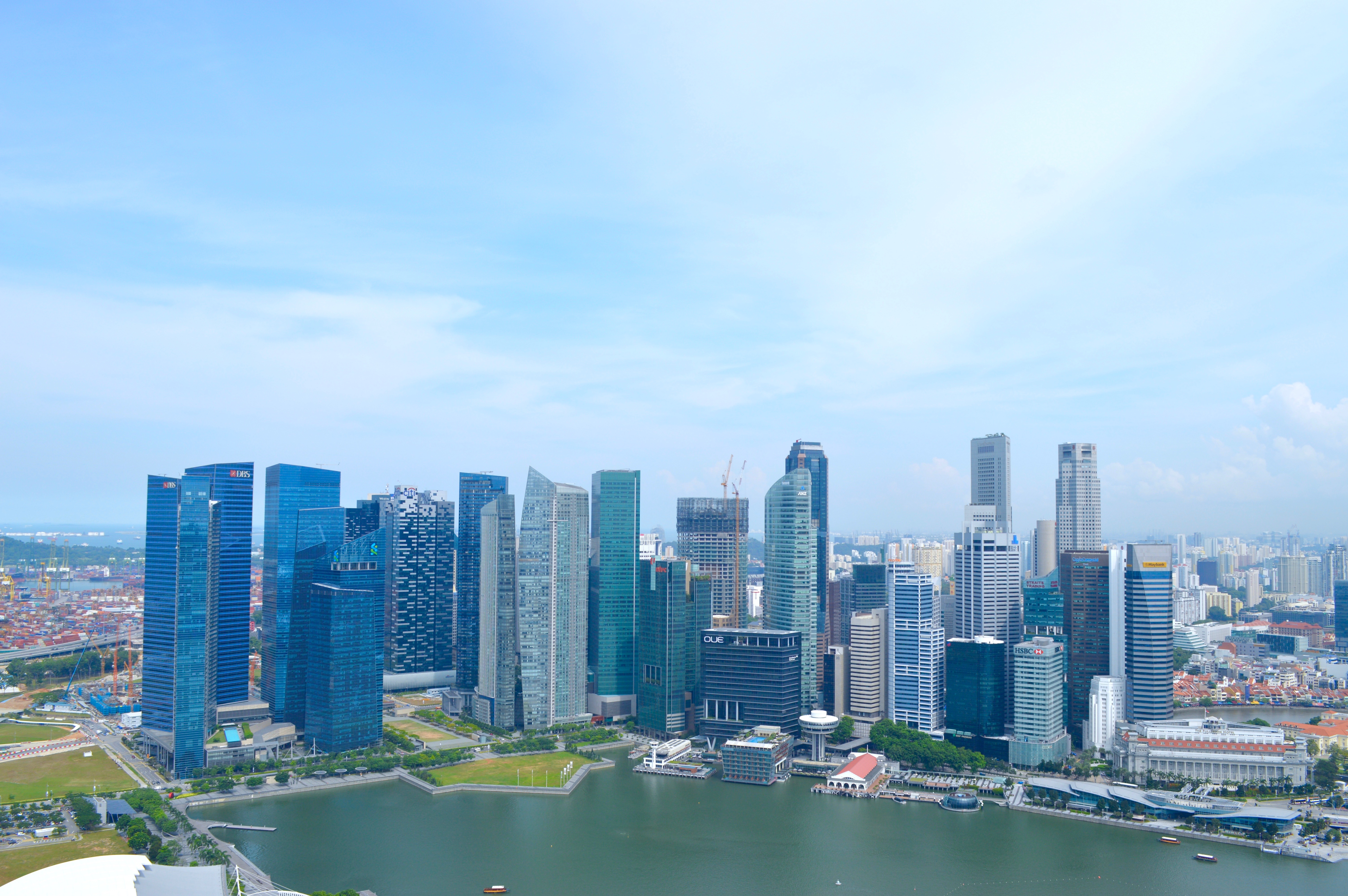 Singapore Cityscape | Things to do in Singapore | Hello Raya Blog