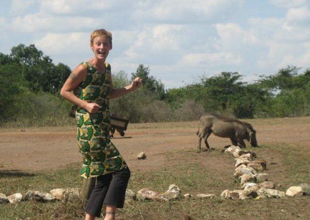 Leslie in Lake Mburo | The Real Uganda | Hello Raya Blog