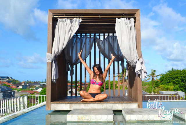 Watermark Hotel Jimbaran - Bali, Indonesia - Rooftop Pool - Hello Raya Blog
